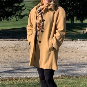 Appleseed's Camel Wool Peacoat